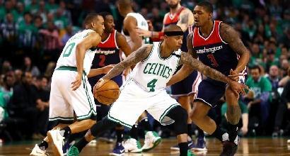 Basket, playoff Nba: Boston schianta Washington in gara 5, finale di conference ad un passo