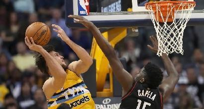 NBA: Gallinari esce dal contratto coi Nuggets