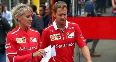"""Formula 1, Vettel: """"La Mercedes è favorita, ma attaccheremo"""""""