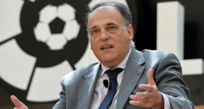 """Spagna, il presidente della Liga: """"Creiamo un premio Mvp intitolato a Messi"""""""