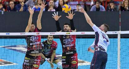 Volley, Superlega: Perugia si riscatta, Modena insegue