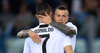 """Juve, Bernardeschi ammette: """"Cristiano Ronaldo una sorpresa, ha stupito tutti"""""""