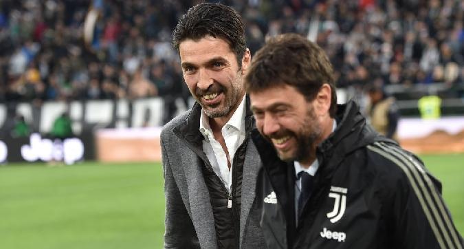 Juve, torna Buffon: farà il vice di Szczesny, poi diventerà dirigente