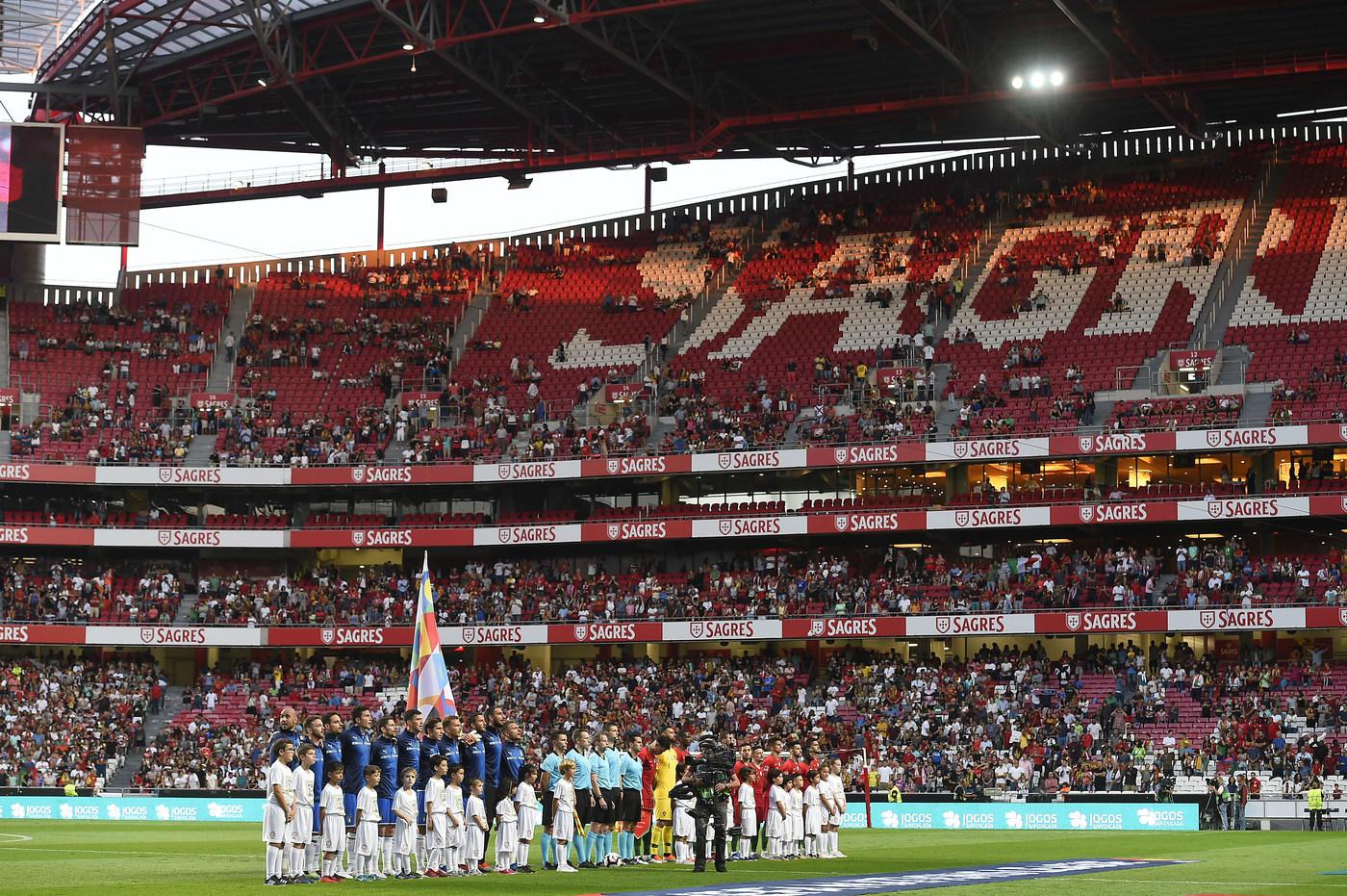 Azzurri sconfitti a Lisbona dal Portogallo nel secondo match della Nations League