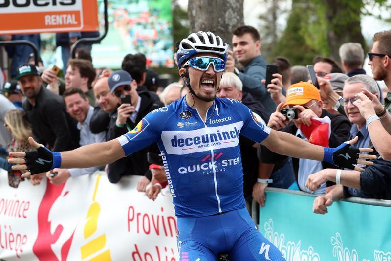 Il francese vince anche l'edizione 2019 della freccia Vallone