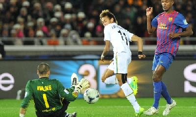 Neymar contro il Barça, Afp