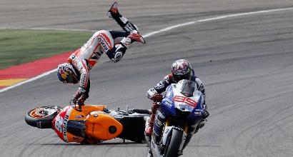 MotoGP: per Marquez la pena è un punto sulla patente