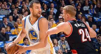 Nba: Warriors, quante triple. Curry e Thompson fanno 71 punti in due