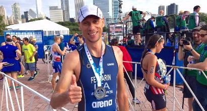 Paralimpiadi 2016, triathlon: argento Ferrarin, bronzo Achenza