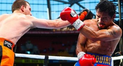 Pacquiao vs Horn, foto AFP