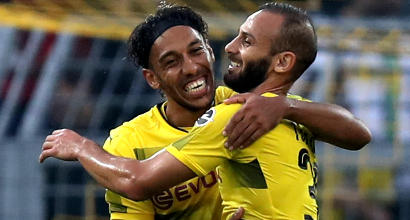 Bundesliga: 6-1 del Borussia Dortmund e primo posto in classifica