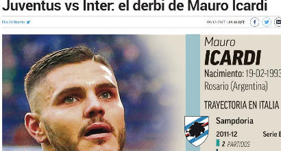 """A Madrid è Icardi-mania: 'Marca' celebra un bomber """"brutal"""""""