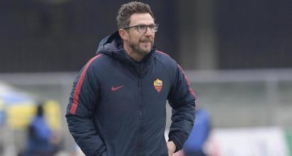"""Roma, Di Francesco: """"Chi si accontenta cade. Nainggolan può partire titolare"""""""