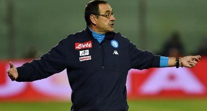 Napoli, è già vigilia di Coppa: Sarri prepara cinque cambi