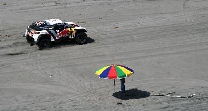 Dakar, quinta tappa: Peterhansel consolida il primato, nelle moto vince Barreda