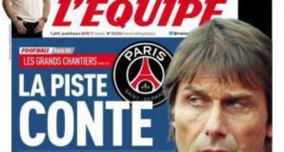 PSG: contatto con Conte, ride Mancini