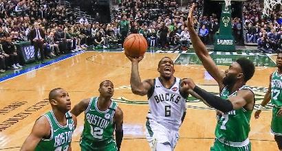 Milwaukee risponde a Boston e pareggia la serie: si va a gara-7