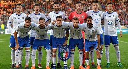 Nazionale: l'Under 21 regala un tempo, è pari con la Francia
