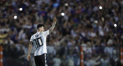 Amichevoli pre-Mondiali: Argentina-Haiti 4-0, tripletta di Messi