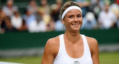 Wimbledon: bene la Giorgi, fuori Lorenzi