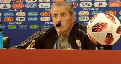 """Uruguay, Tabarez nasconde le carte: """"Cavani? Vedremo se ci sarà..."""""""