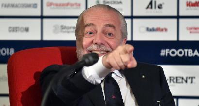 """De Laurentiis, messaggio a Cavani: """"Riduciti lo stipendio e chiamami"""""""