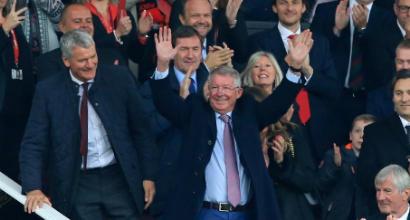 Manchester United, Sir Alex Ferguson torna all'Old Trafford!