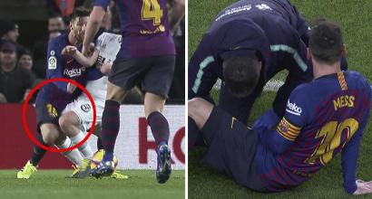 Barcellona in ansia per Messi, a rischio il Clasico col Real