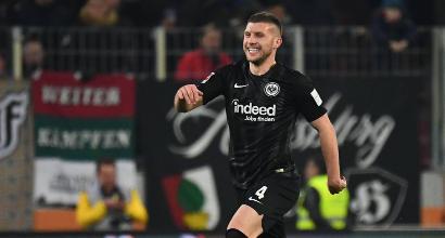 L'Inter è sempre senza Icardi, ma l'Eintracht perde la sua stella Ante Rebic