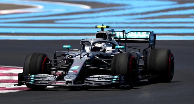 F1, Bottas domina le Libere 2