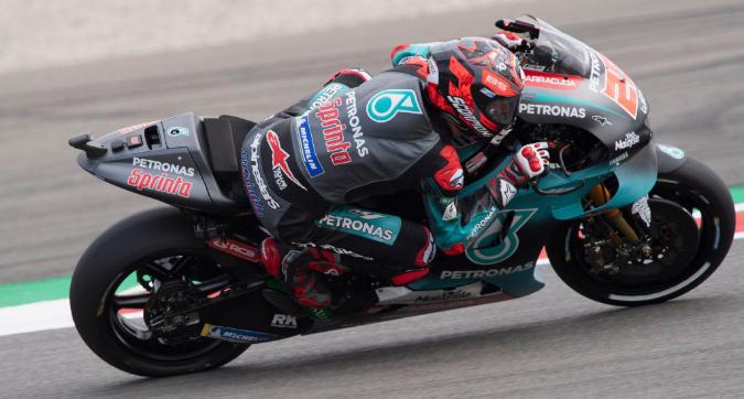 MotoGP, Quartararo svetta in FP1