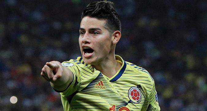 Calciomercato Napoli, James Rodriguez vuole l'Atletico Madrid