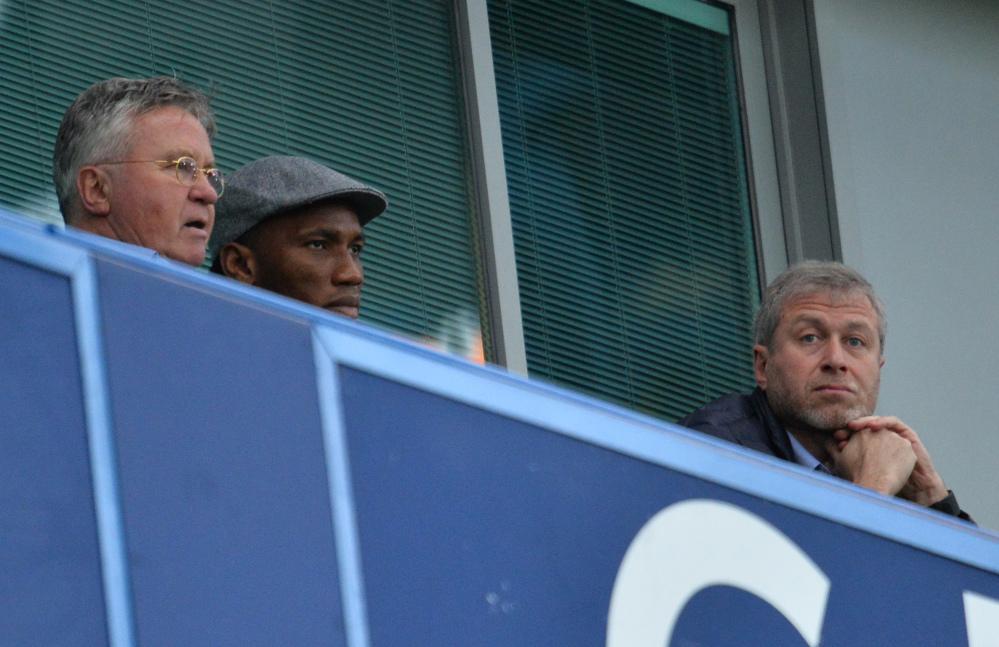 Hiddink a Stamford Bridge