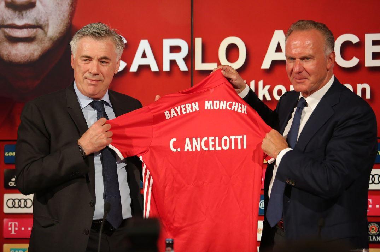 Bayern, ecco Carlo Ancelotti