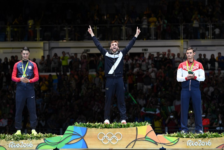 Rio 2016, scherma: la favola di Garozzo, oro da urlo
