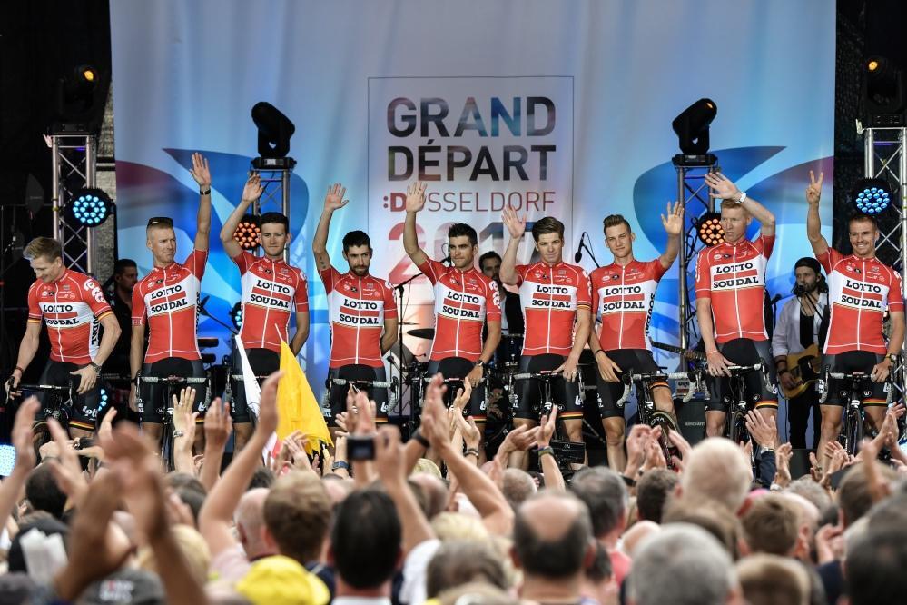 Tour de France, ecco i team