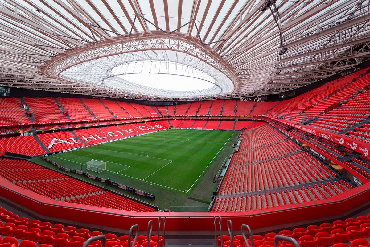Il nuovo San Mames di Bilbao