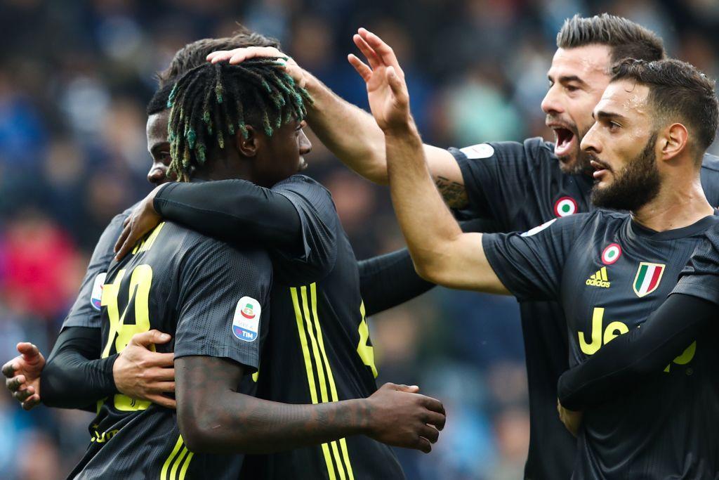 Spal-Juventus in foto