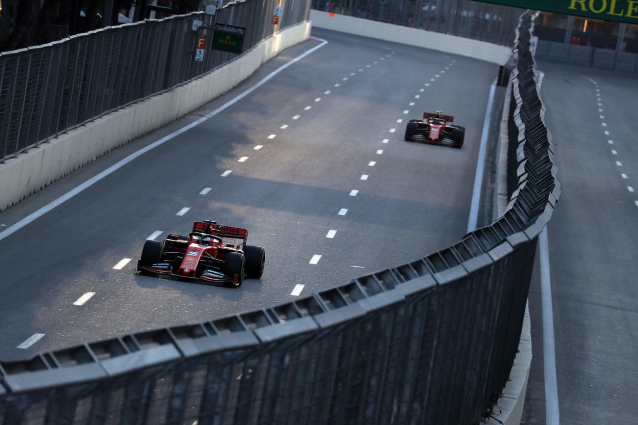 F1, venerdì dimezzato a Baku