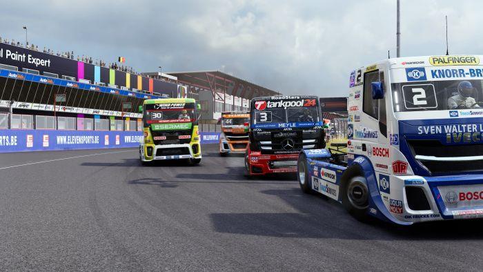I camion tornano sulle piste... virtuali