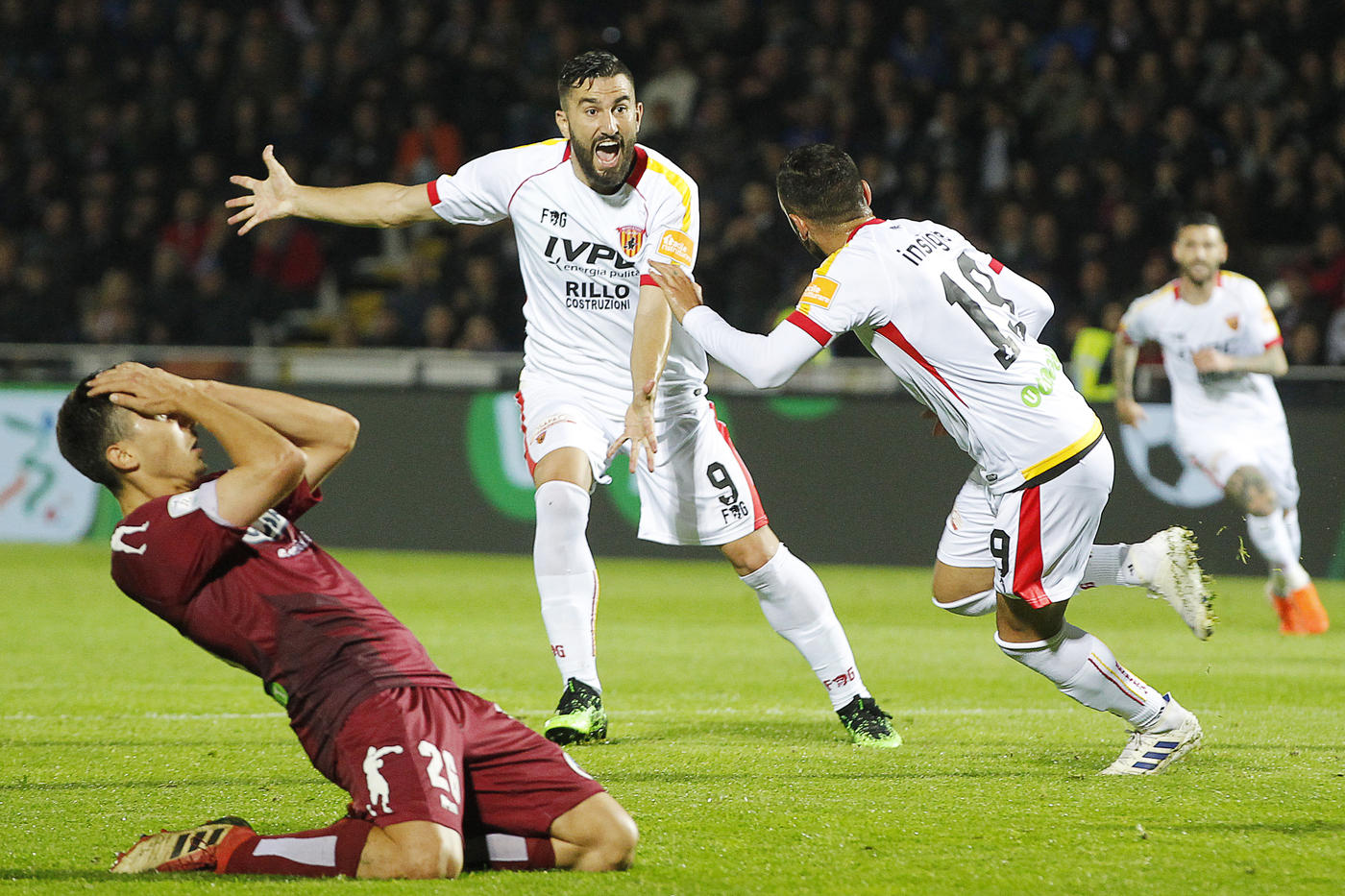 Playoff Serie B: Cittadella-Benevento 1-2