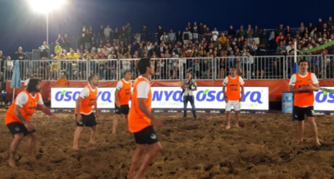 BOBO SUMMER CUP_FOOTVOLLEY|Bobo Summer Cup: che show con Vieri, Recoba, Toni e...