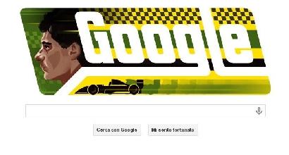 Doodle di Google per Senna