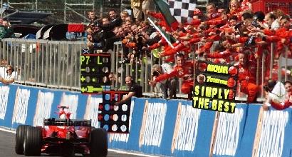 Schumacher, dieci anni dall'ultimo trionfo Mondiale