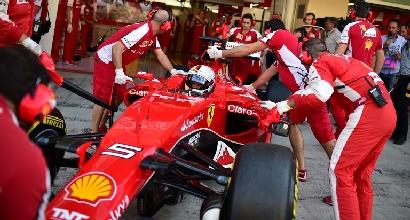 """Ferrari, Vettel: """"Siamo troppo indietro"""""""