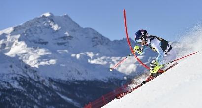 Sci, slalom St. Moritz: prova di forza di Mikaela Shiffrin