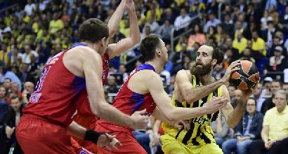 Basket, Eurolega: settimo sigillo per il Cska Mosca