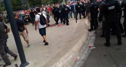 Euro 2016: scontri a Marsiglia prima di Ucraina-Polonia
