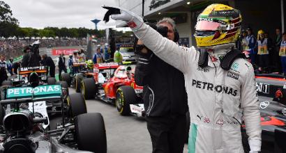 """F1 a Interlagos, Hamilton: """"Pioggia? Sono pronto a tutto"""""""