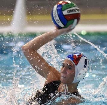 Pallanuoto: Carolina Marcialis torna in vasca ed è subito tripletta<br />